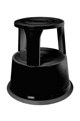 Plastic Super Step Stool – Black
