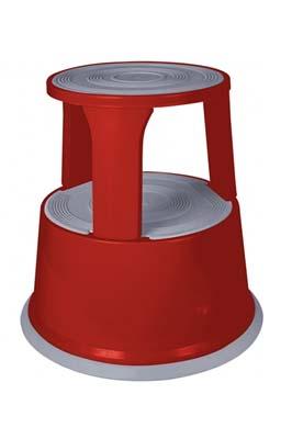Plastic Super Step Stool -Red