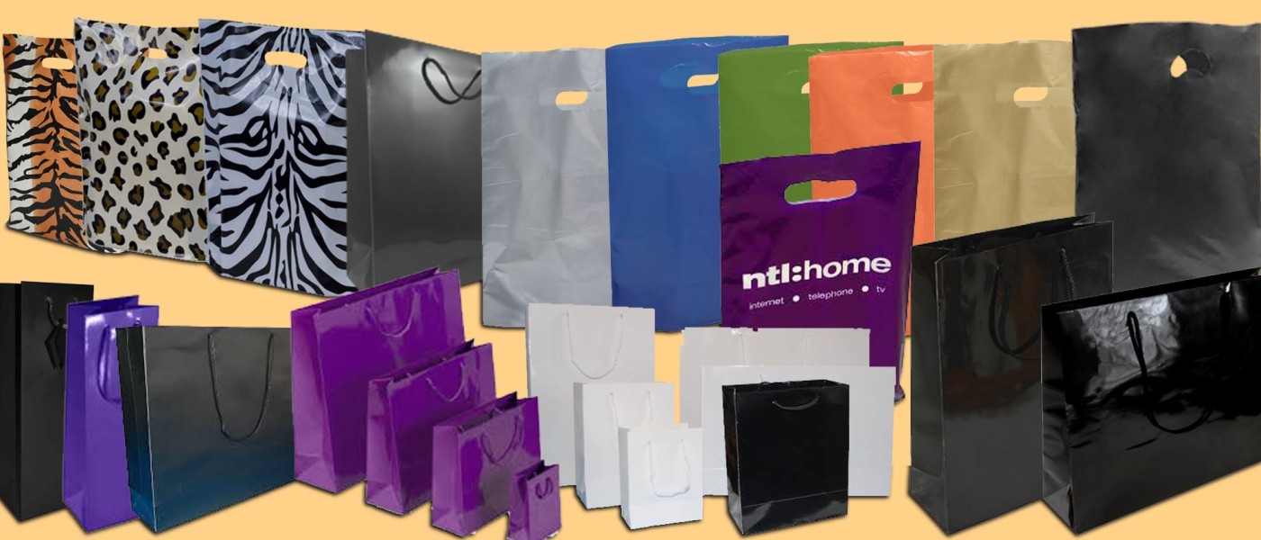Plastic and Paper Carrier bags