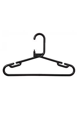 Adult Plastic Hangers – Black