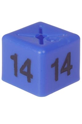 50 X Unisex Coat Hanger Size Cubes – 14