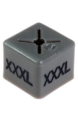 Unisex Coat Hanger Size Cubes – XXXL – Purple pack of 50