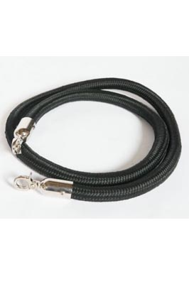 Crowd Control & Security Barrier Rope Black (1m)