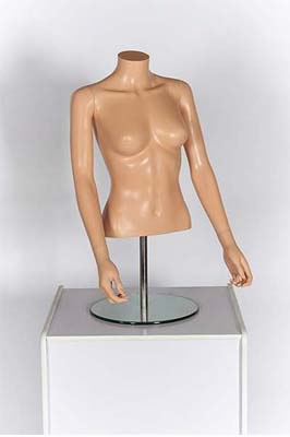 Female Upper Torso With Arms – Fleshtone