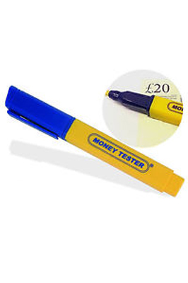 Counterfeit Fake Money Checker Pen
