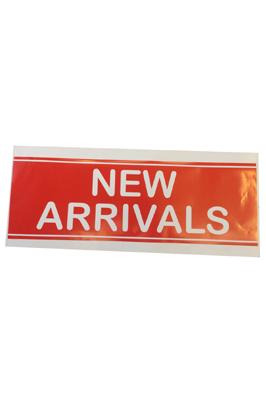 4 x Retail Shop Window Banner – New Arrivals