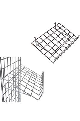 Gridwall Slanding Shelf