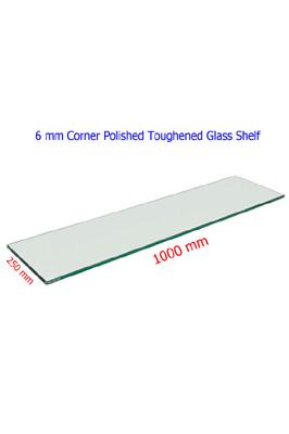 Toughened Glass Shelves (1000 X 250 X 6mm)