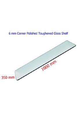 Toughened Glass Shelves (1000 X 350 X 6mm)
