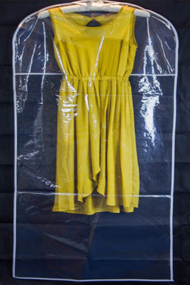 Showerproof Wedding Dress Cover – Clear