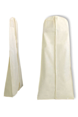 Showerproof Wedding Dress Cover – Cream