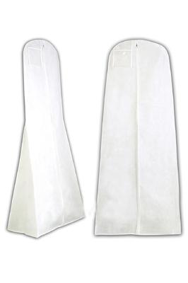 Showerproof Wedding Dress Cover – White