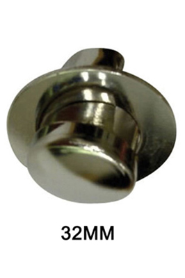 2 x End Cap With Flange 32mm