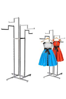 Fully Adjustable Stepped Arm Garment Rail