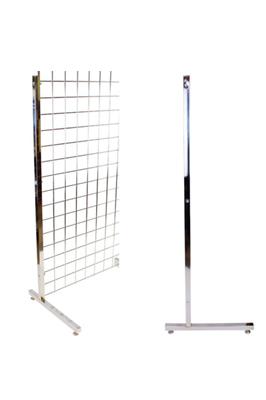 Gridwall heavy duty L legs (Pair)