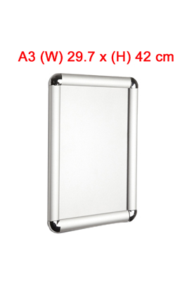 A3- Snap Clip Frames Opening Poster Holders