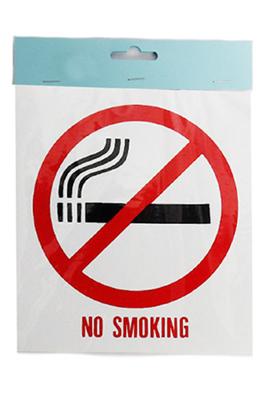 Shop Window Self Adhesive Sticker – NO SMOKING
