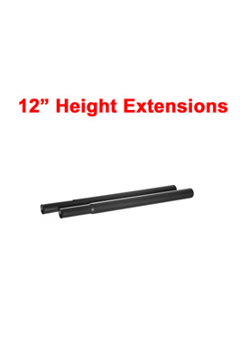 12″ Extension Poles For Garment Clothes Rail
