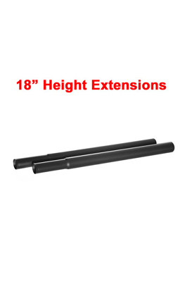 18″ Extension Poles For Garment Clothes Rail