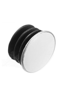 2 x Spare End Caps For Wall Mounted Clothes Rail