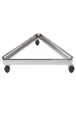 Triangular Base Stand For Gridwall Mesh Panel