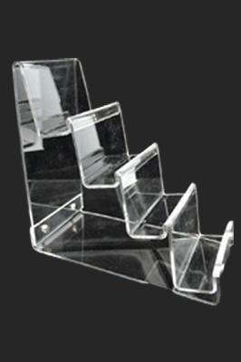 4-Tier Clear Acrylic Handbag Purse Display Stand