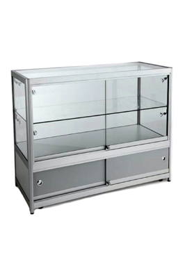 Professional Aluminium & Glass Display Cabinet