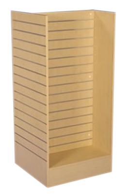 Maple Slat 'H' Display