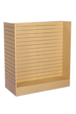 Maple Slat Gondola Display Unit