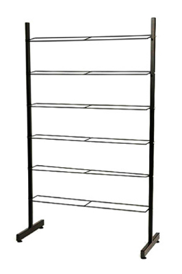6 Tier / Multi Shelf Shoe Footwear Display Rack