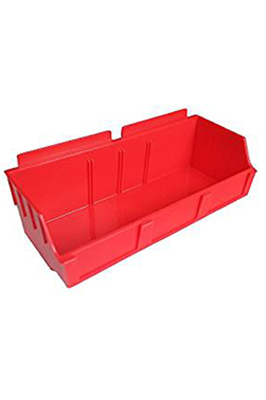 Red Heavy Duty Large Storage /Slat /Shelf /Pop Box