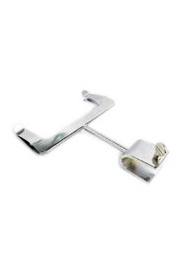 Chrome Price Card Holder – Oval Clamp