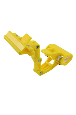 Double Clamps Yellow Plastic Poster Pop Display Clip