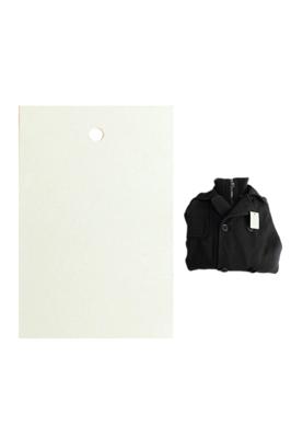1000 x White Unstrung Plain Clothes Tickets