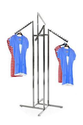 Heavy Duty 4 Way Slope Clothes Rail