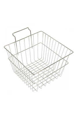"Gridwall Mesh Storage Shelving Deep Basket (12""x12""x8"")"