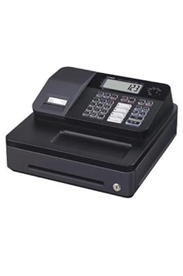 Black Casio SE-G1 Cash Register Till With 20 Roll
