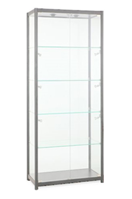 Tall Glass Showcase