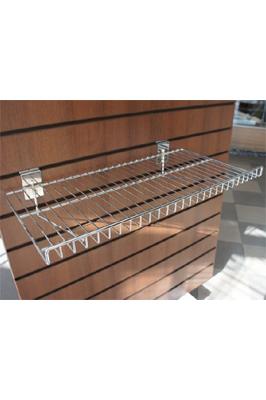 Slatwall Wire Shelf Basket