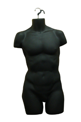 Black Hanging Male Torso – Full