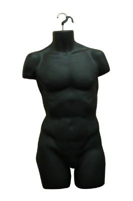 Black Hanging Male Torso – Full