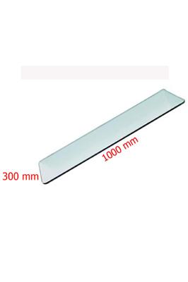 Toughened Glass Shelves (1000 X 300 X 6mm)