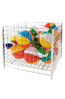 Heavy Duty Wire Basket With Wheels