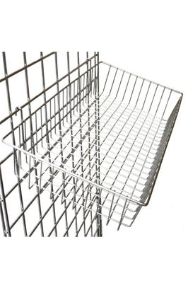 Gridwall Shallow Basket