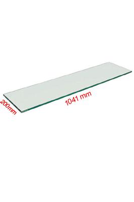 Toughened Glass Shelves (1000mm X 200mm X 6mm)