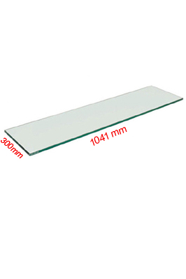 Toughened Glass Shelves (1050 X 300 X 6mm)