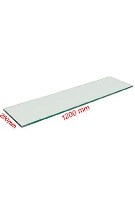 Toughened Glass Shelves (1200 X 300 X 6mm)