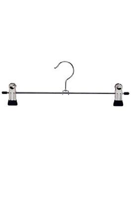 Chrome Adjustable Clip  Hanger 40cm
