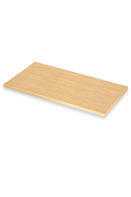 Slatwall Wooden Shelf Maple