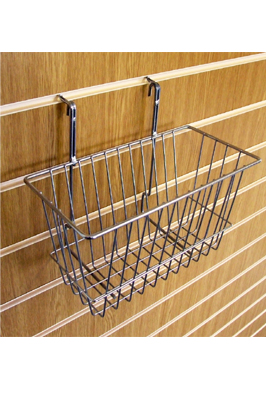 Small Wire Basket For Slat Wall